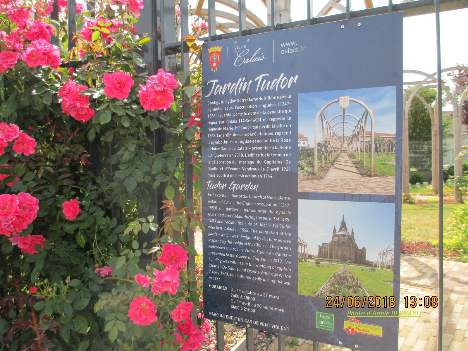 Jardin Tudor de Notre-Dame