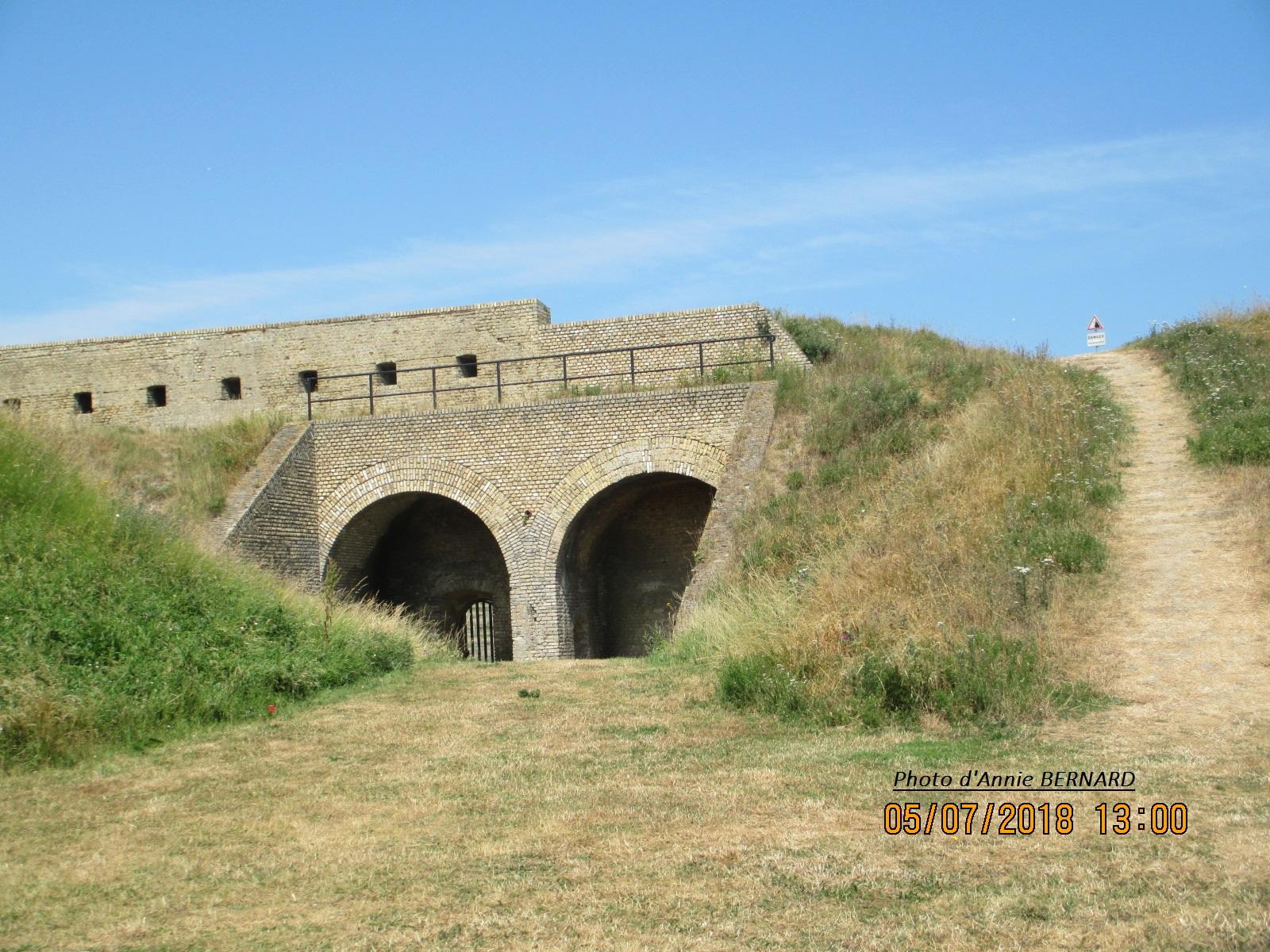 L'intérieur du Fort