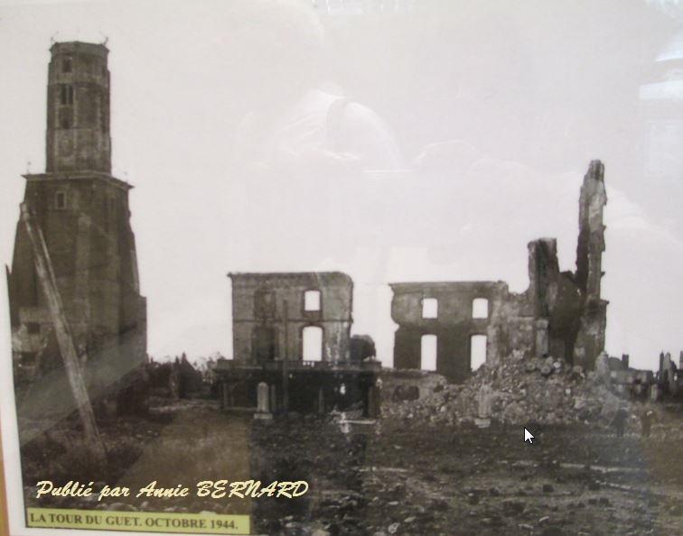 La Tour du Guet pendant la guerre en 1944