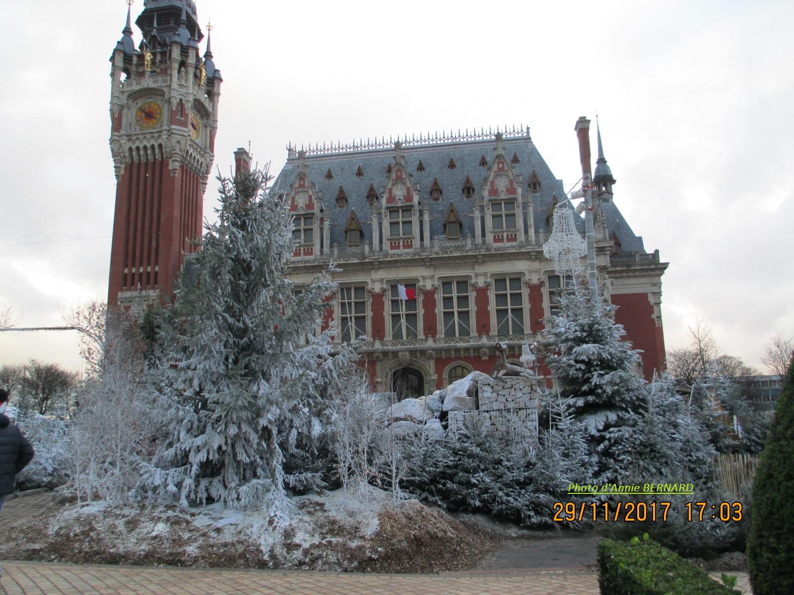 L' Hôtel de Ville de Calais
