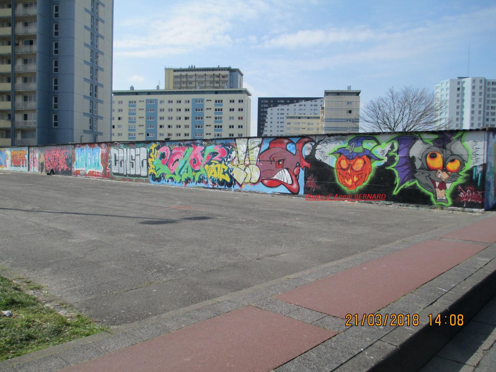 Art Urbain à Calais