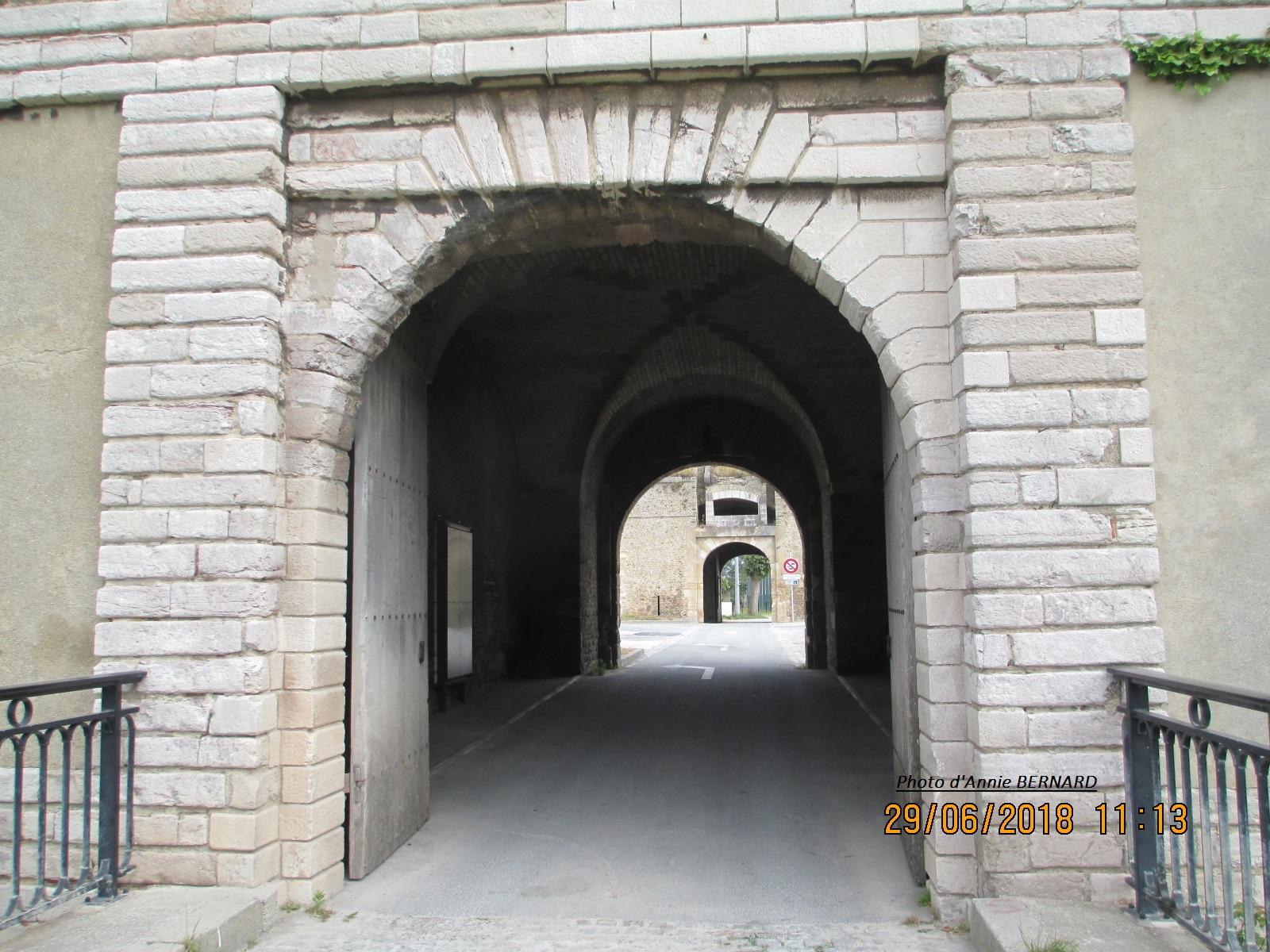 Entrée dans la Citadelle