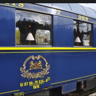 Le train Bleu baptisé: Calais-Méditerranée-Express