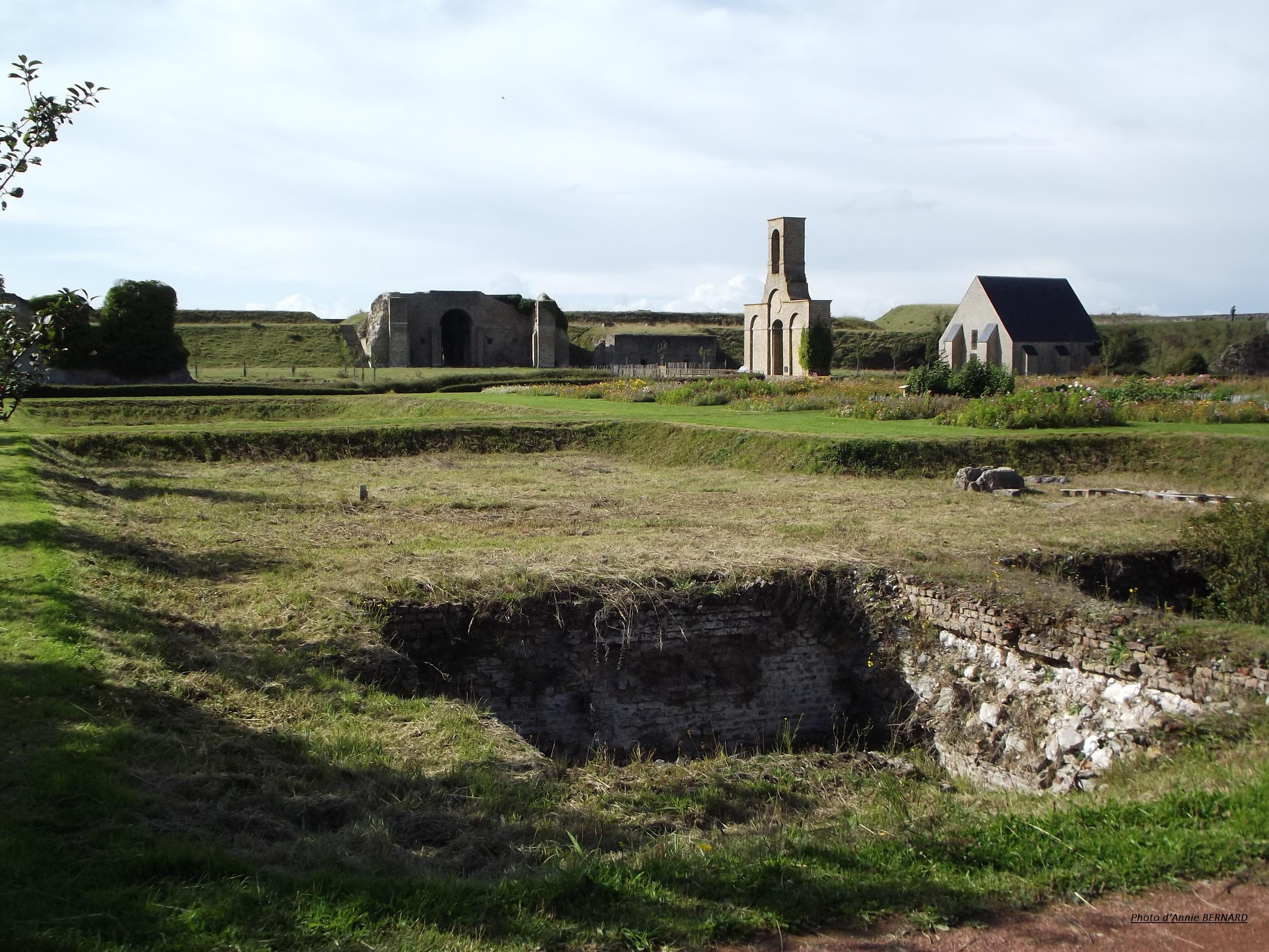 Site intérieur du fort