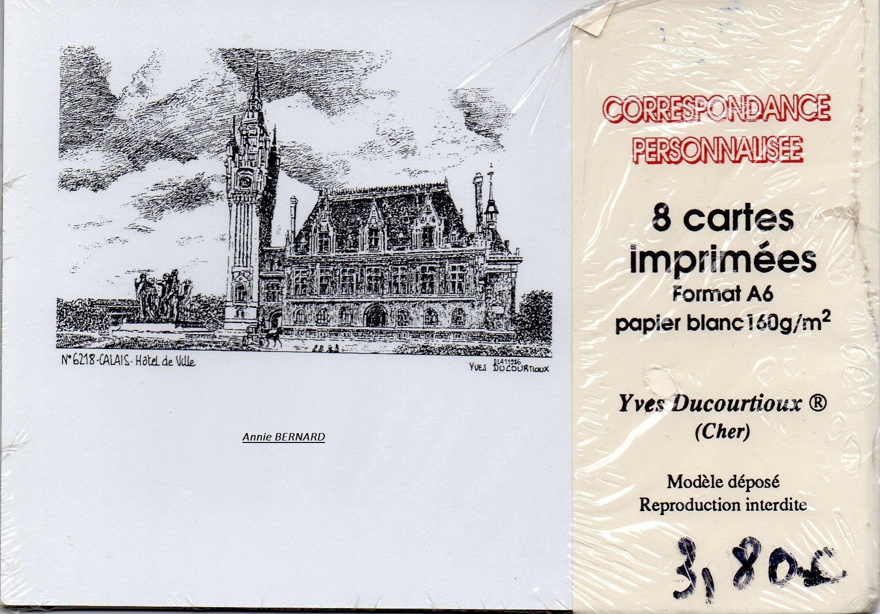 Enveloppe sur Calais
