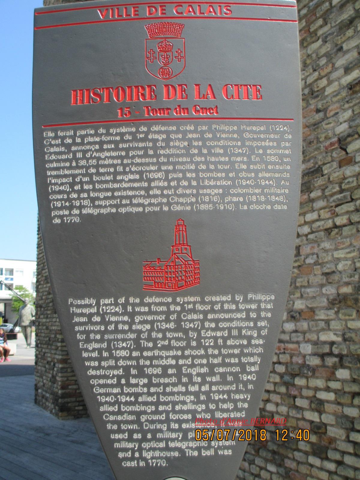 La Tour du Guet de l'an 1224