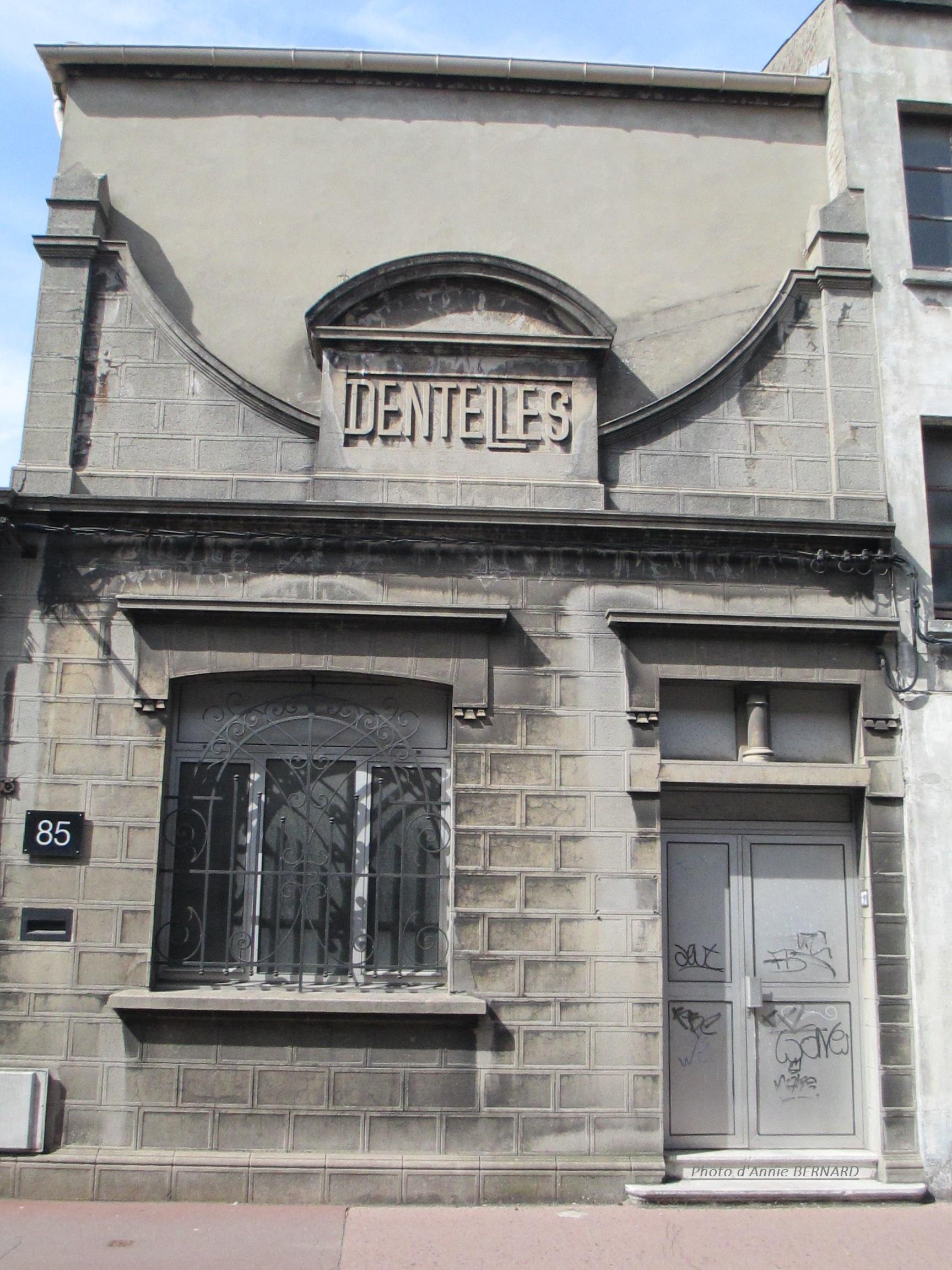 Ancienne usine à dentelle rue de Vic à Calais