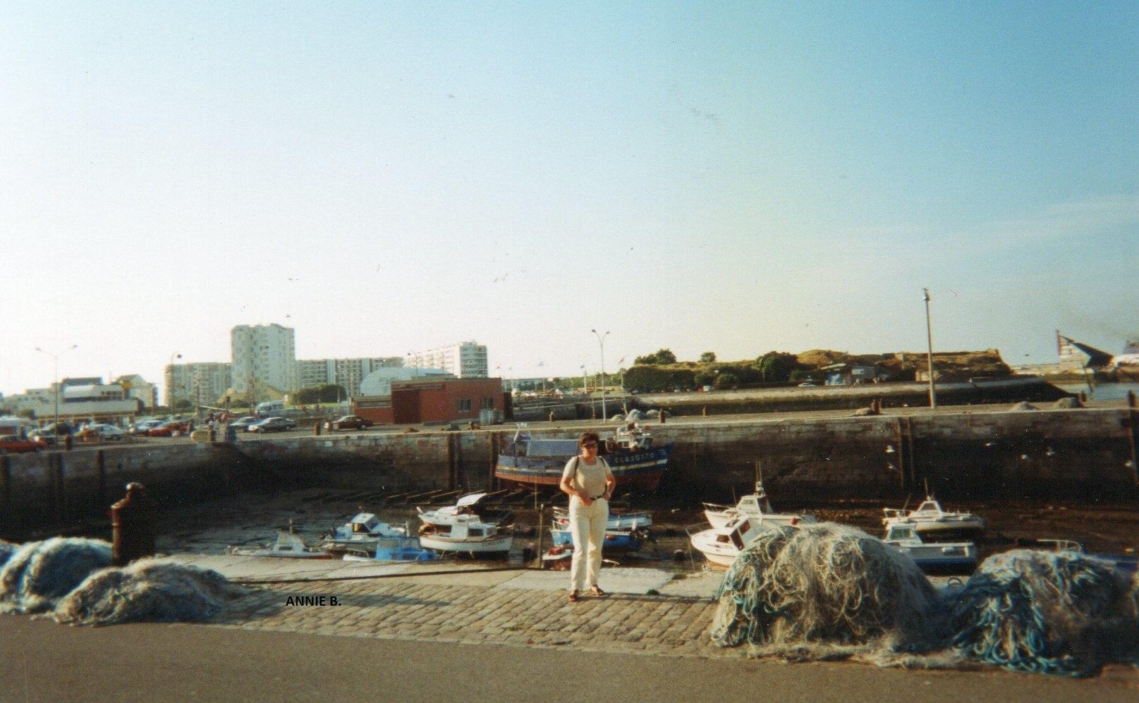 Bassin du Paradis en 1996 au Courgain Martime de Calais