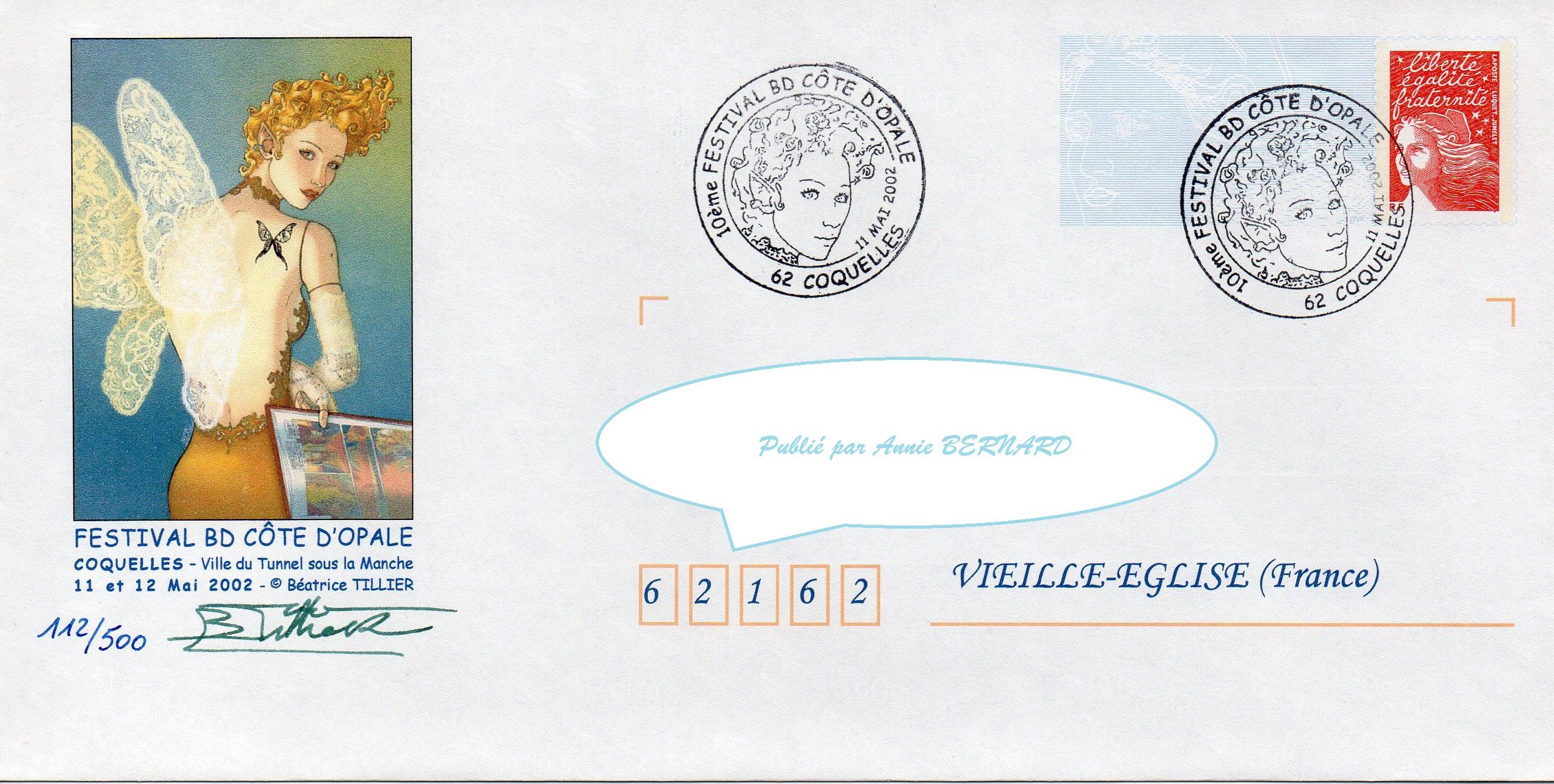 Enveloppe numérotée