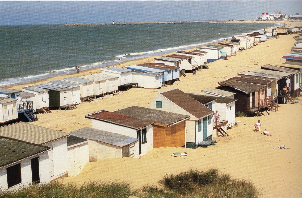 Calais - plage en 1995