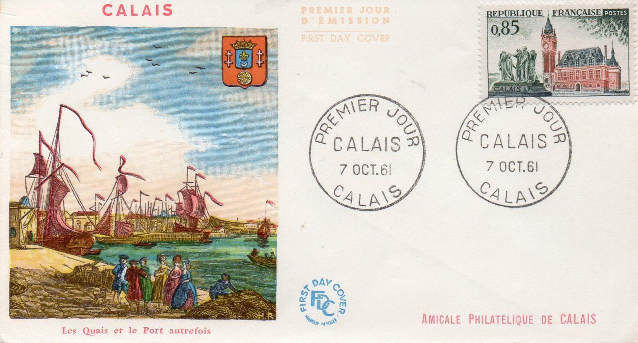 Calais rétro, le port et les quais