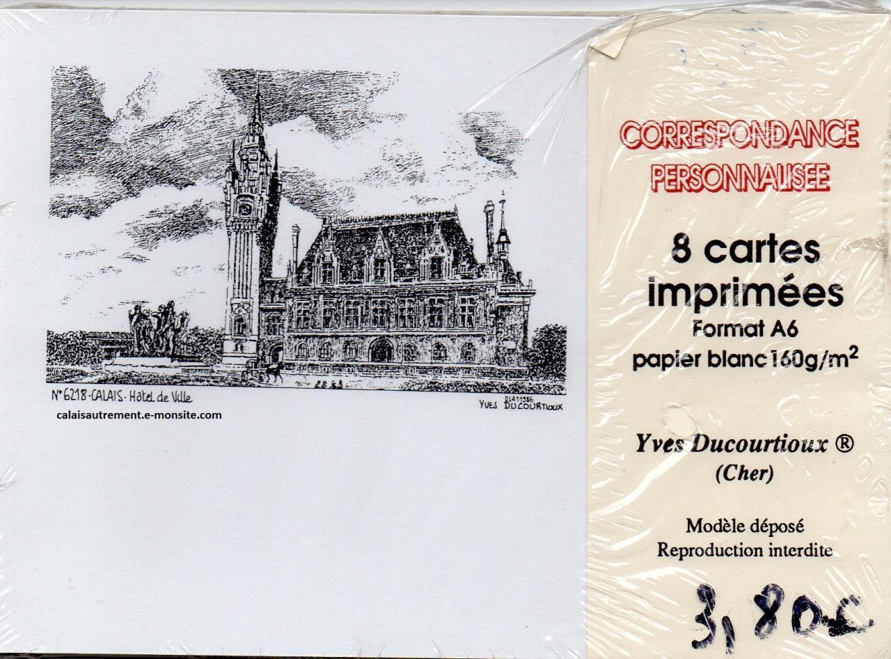 Enveloppes et cartes  sur Calais