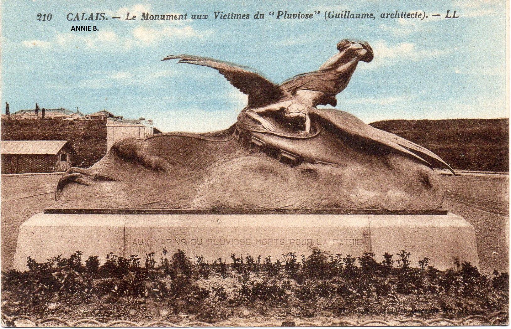 Le monument du Pluviose à Calais