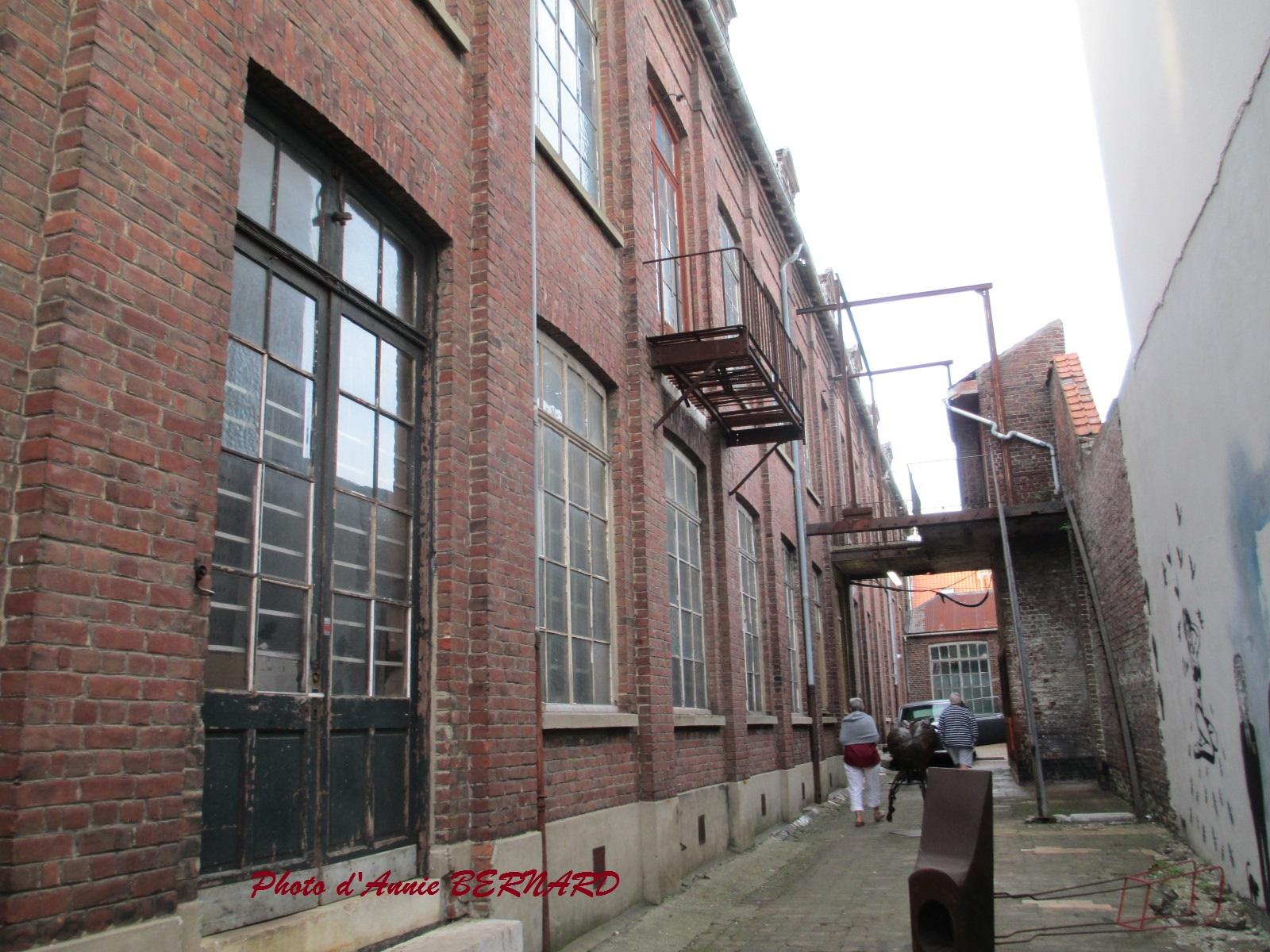 Ancienne usine à tulle à Calais