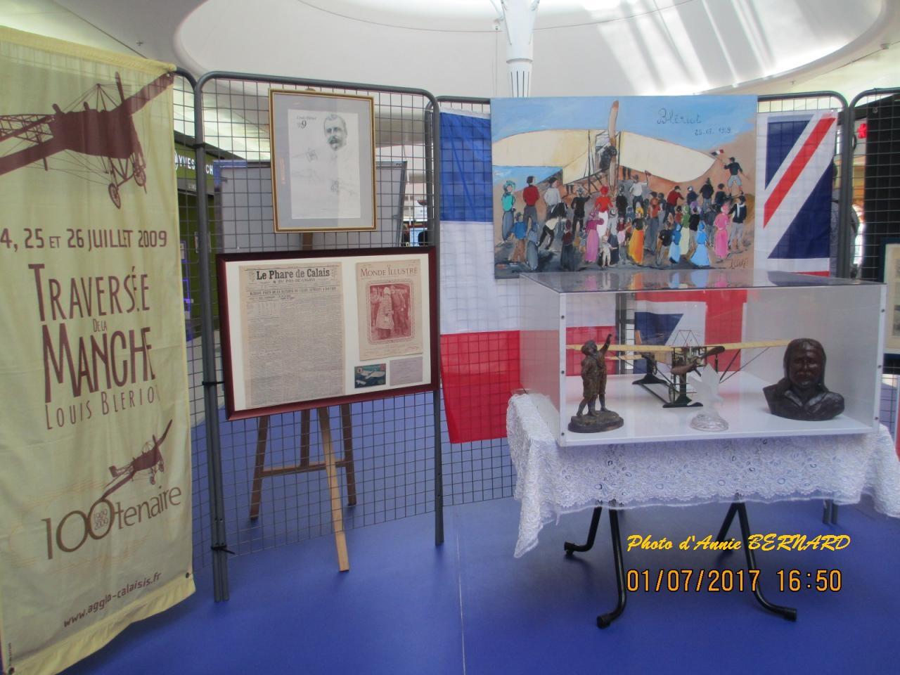Exposition sur l'aviateur Louis Blériot à Coquelles