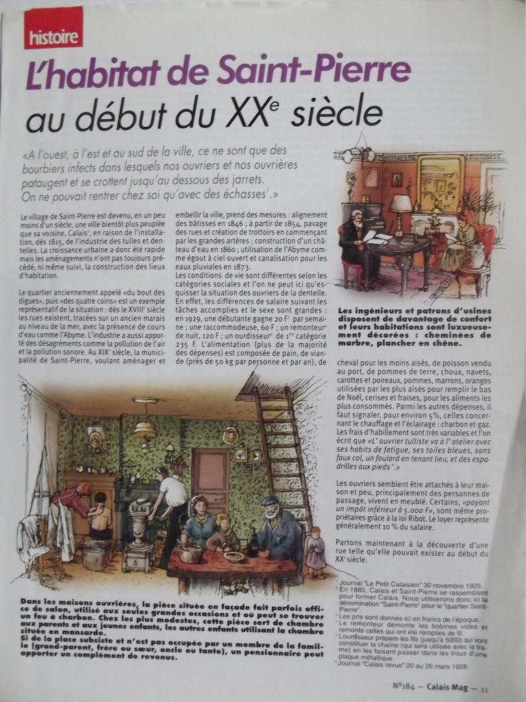 Habitat de Saint-Pierre au début du XX°siècle 1