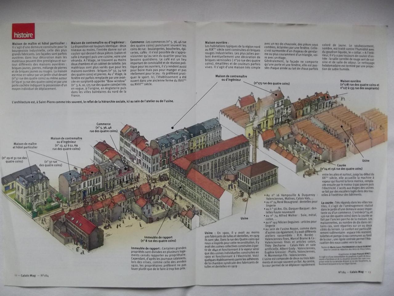 Habitat de Saint-Pierre au début du XX° siècle 2