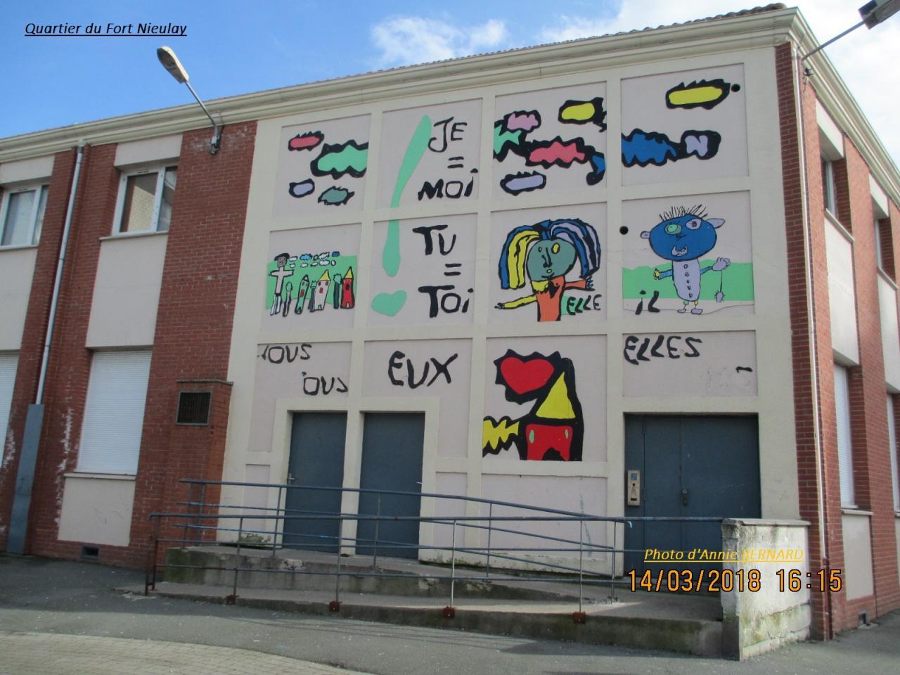 Quartier du Fort Nieulay, école primaire Oran Constantine