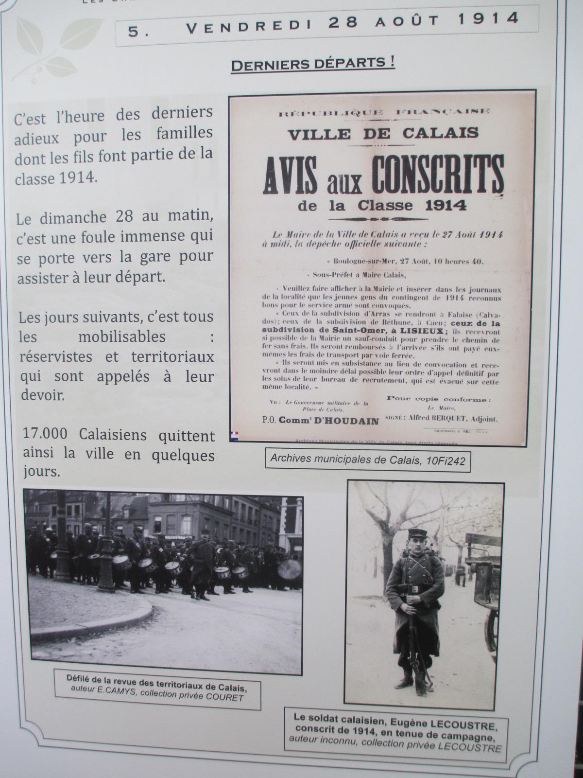 Vendredi 28 août 1914