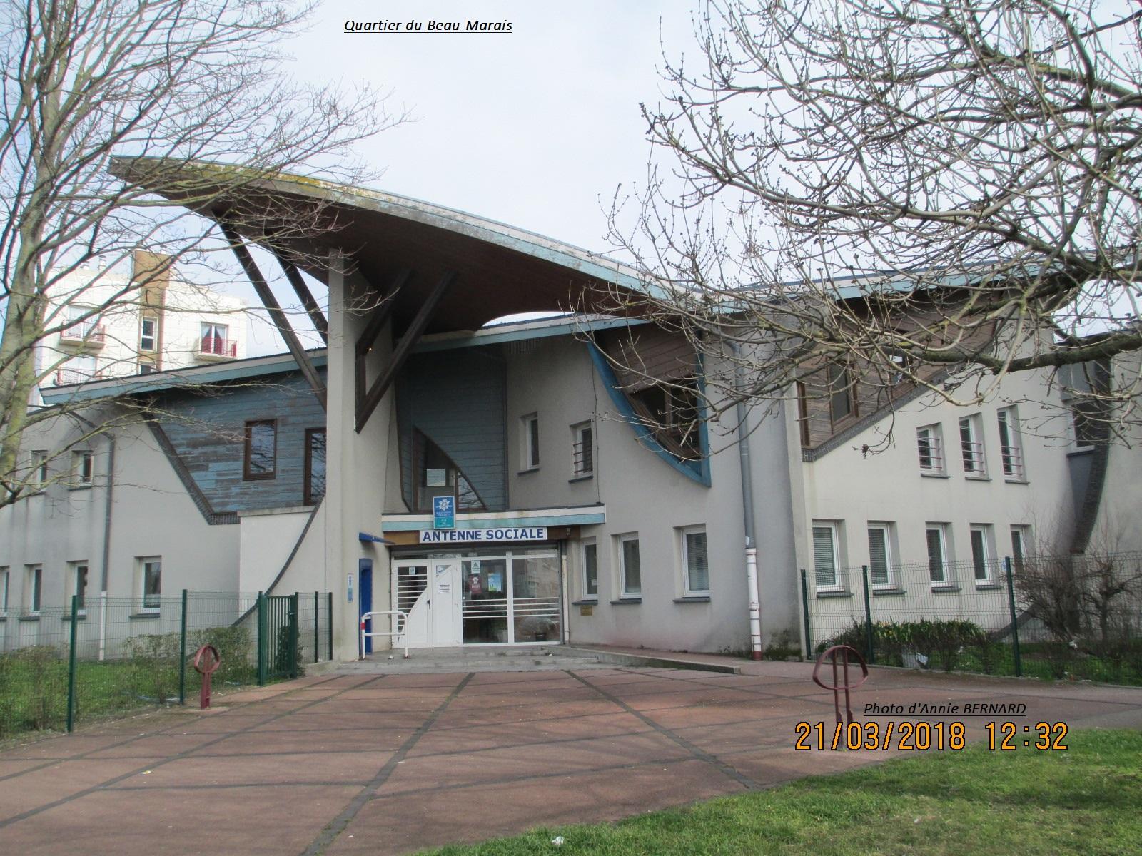 Quartier du Beau-Marais  et une antenne sociale