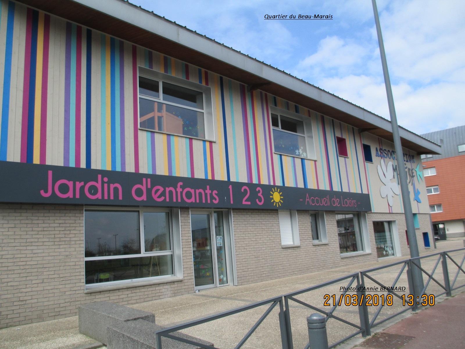 Quartier du Beau-Marais et son jardin d'enfants