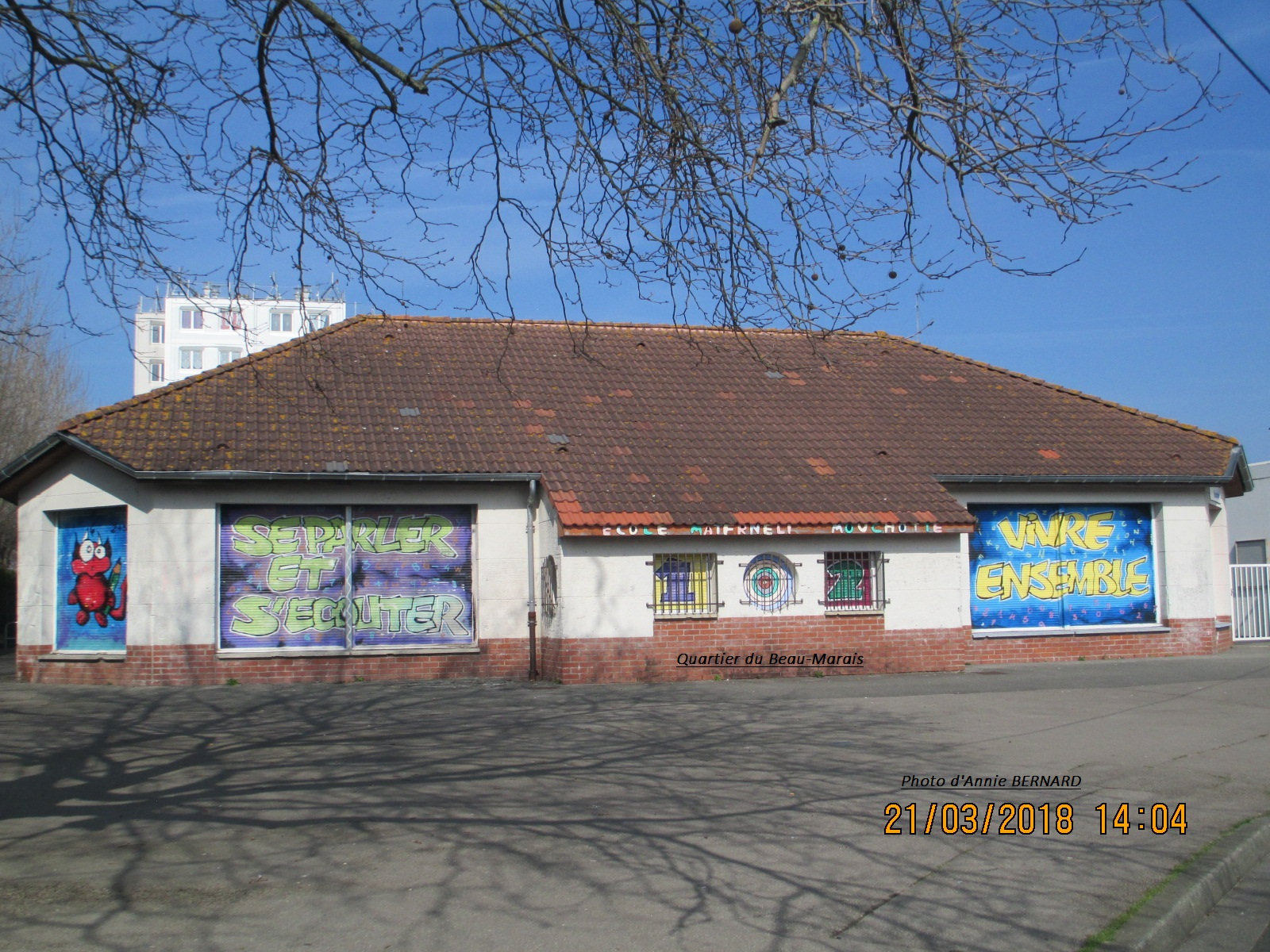 Quartier du Beau-Marais, école Andrique