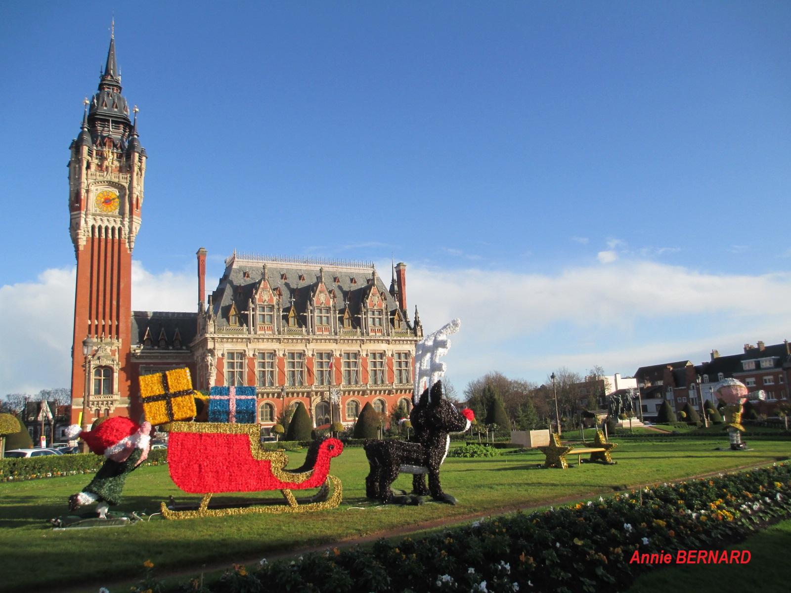 La mairie de Calais