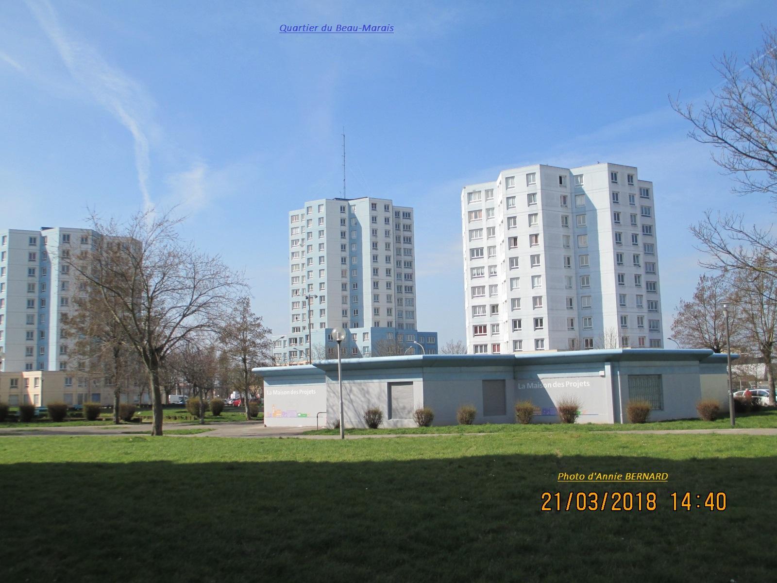 Quartier du Beau-Marais et la Maison des Projets