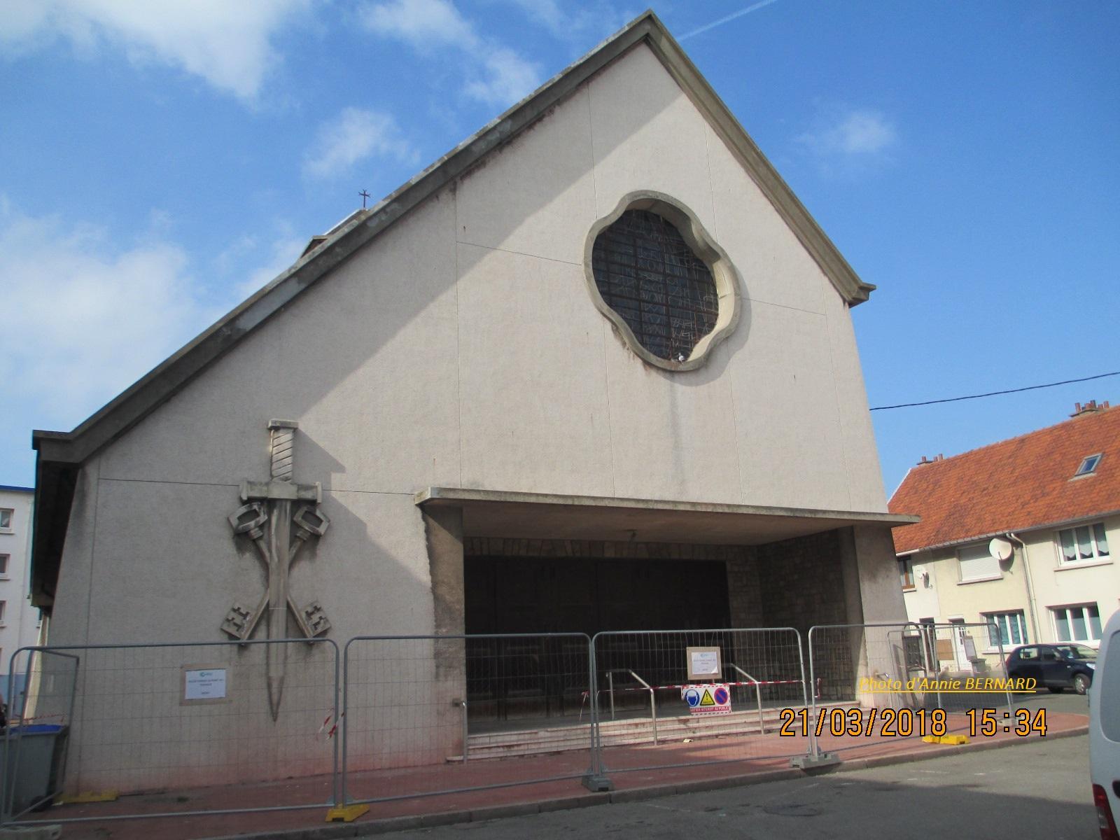 Eglise du Courgain maritime de Calais