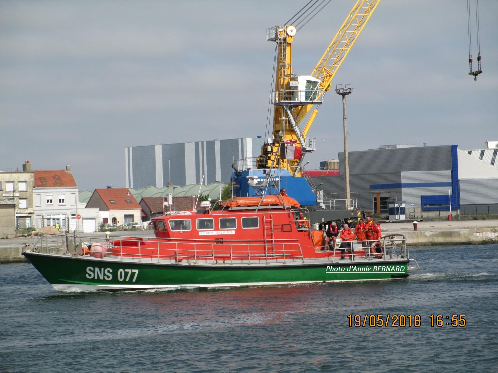 La SNS  077 de Calais