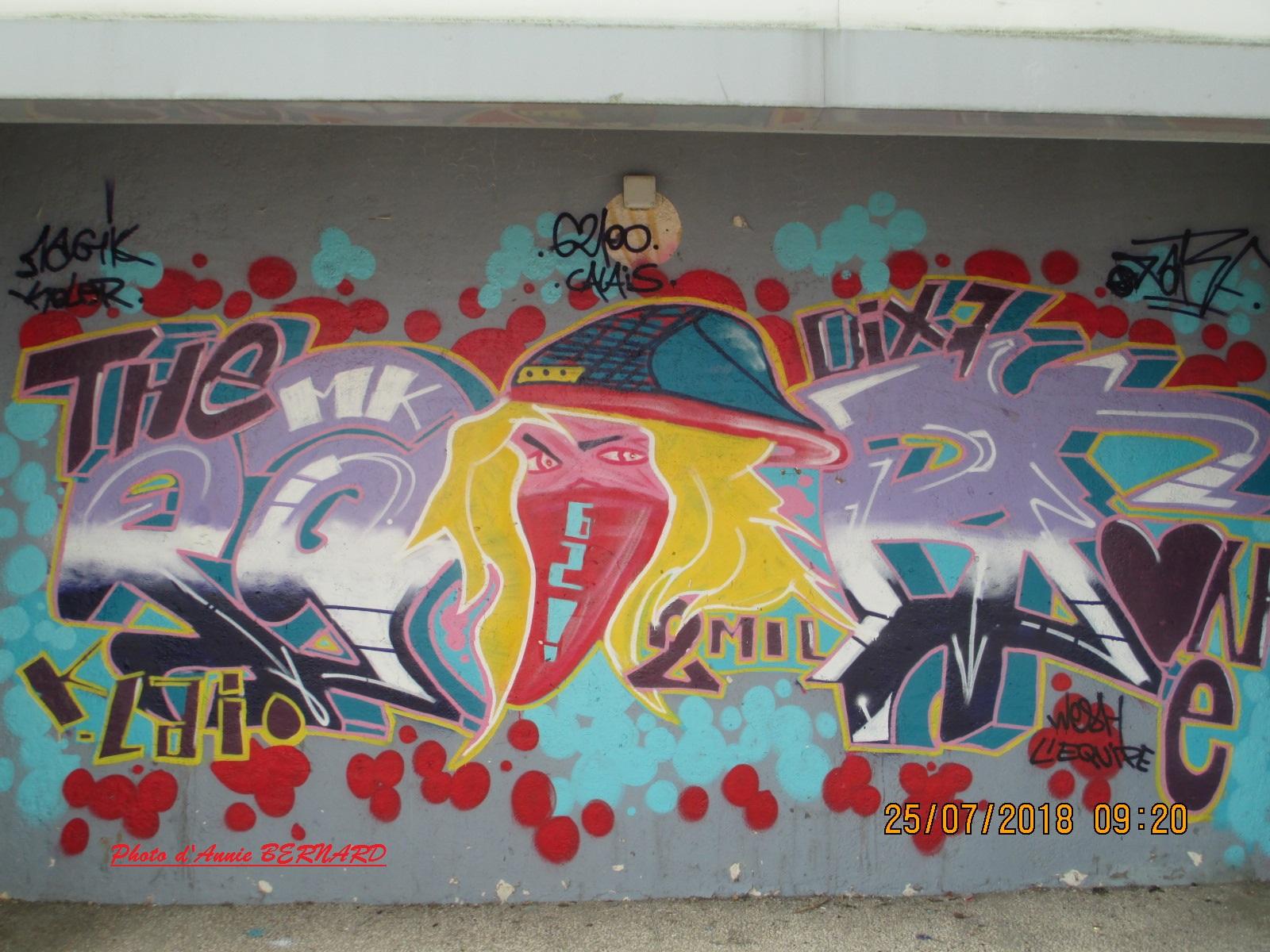 Représentation urbaine colorée
