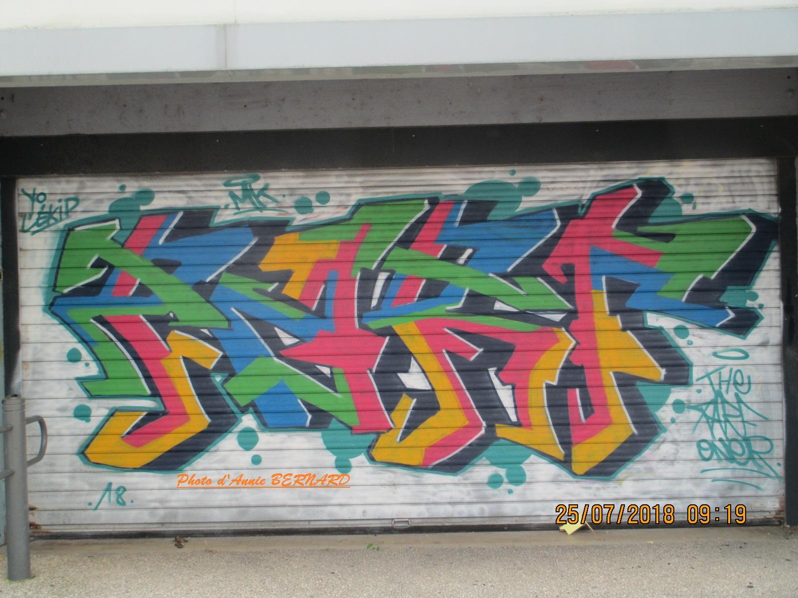 Art contemporain coloré