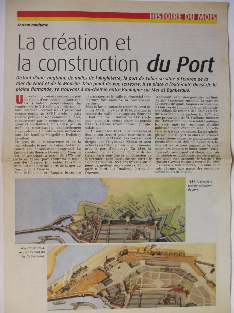 La construction du port 1