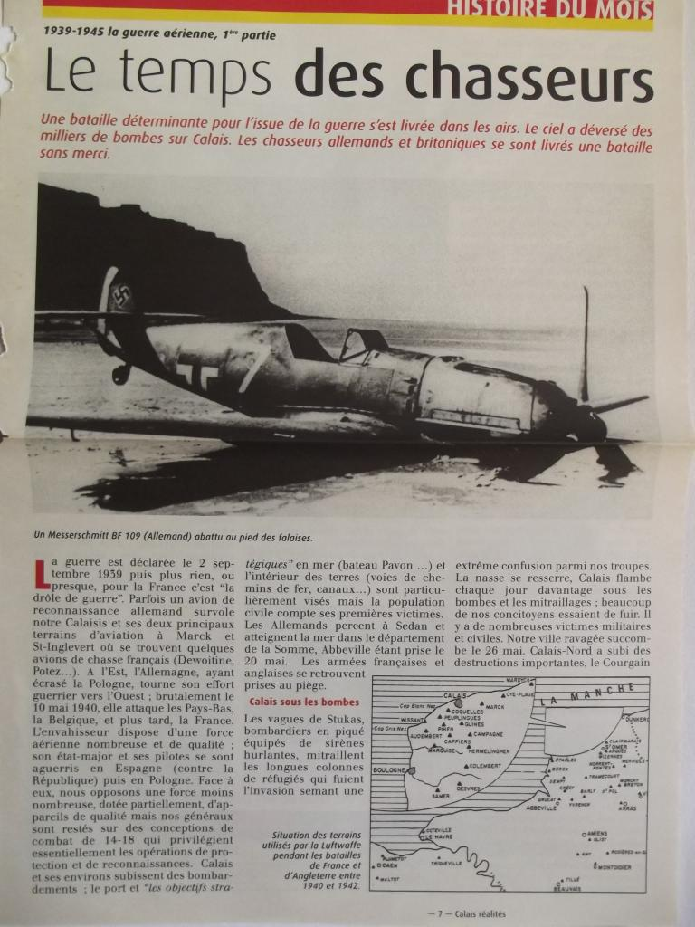 le temps des chasseurs en 39-45 sur Calais 1