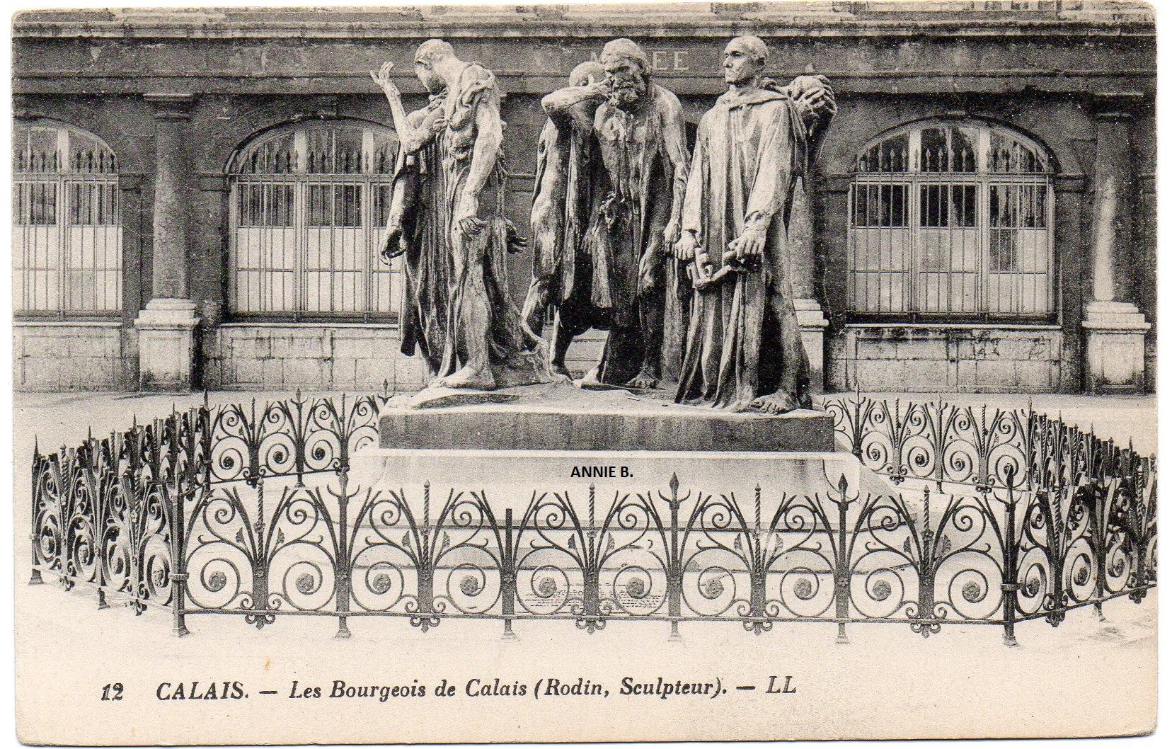 Les Six Bourgeois de Calais dans le passé
