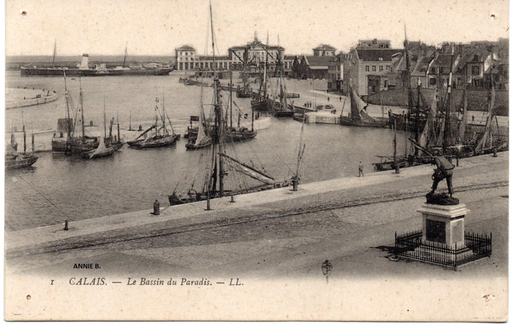 Rétro, Courgain maritime de Calais