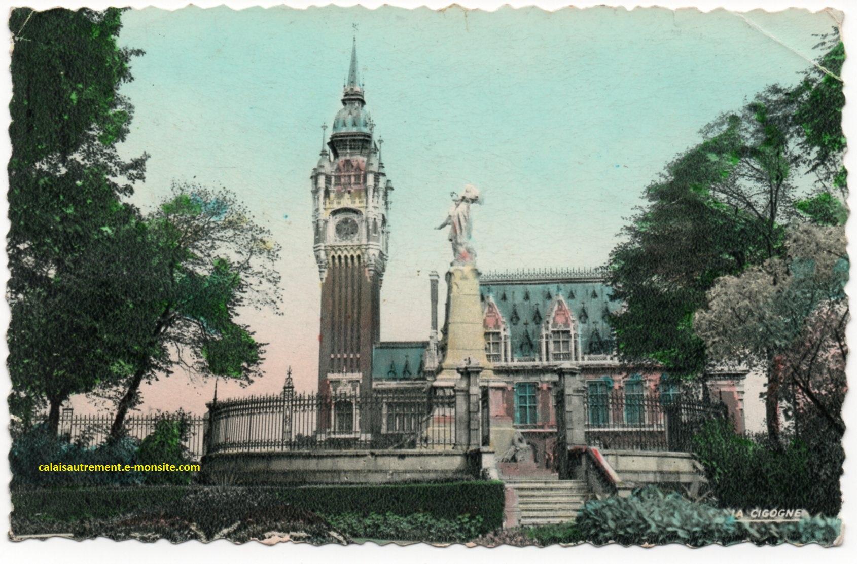 Rétro Hôtel de ville de Calais