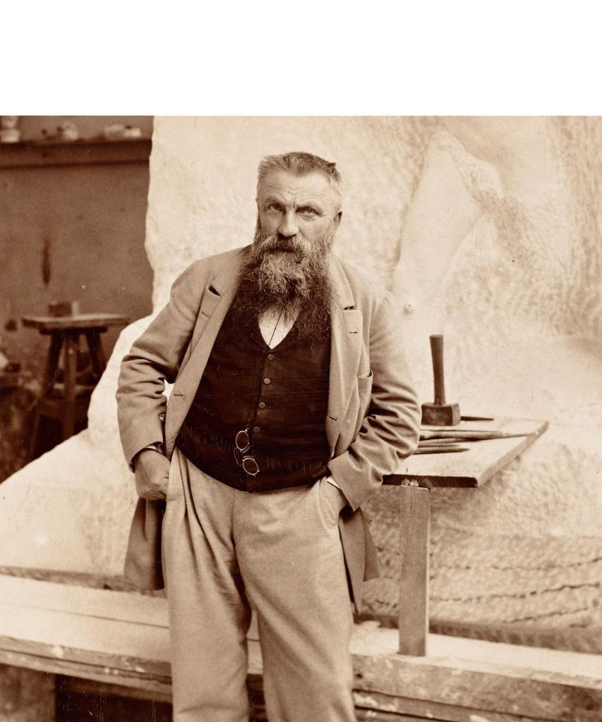 Auguste Rodin sculpteur des Six Bourgeois de Calais